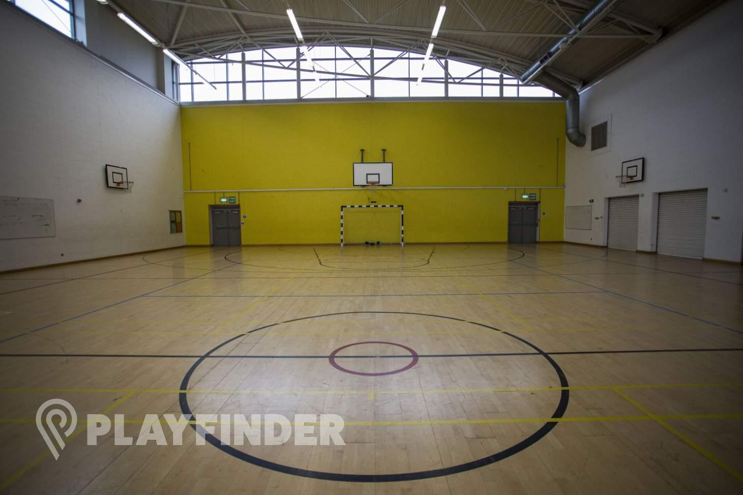Barnhill Community School Court | Sports hall volleyball court