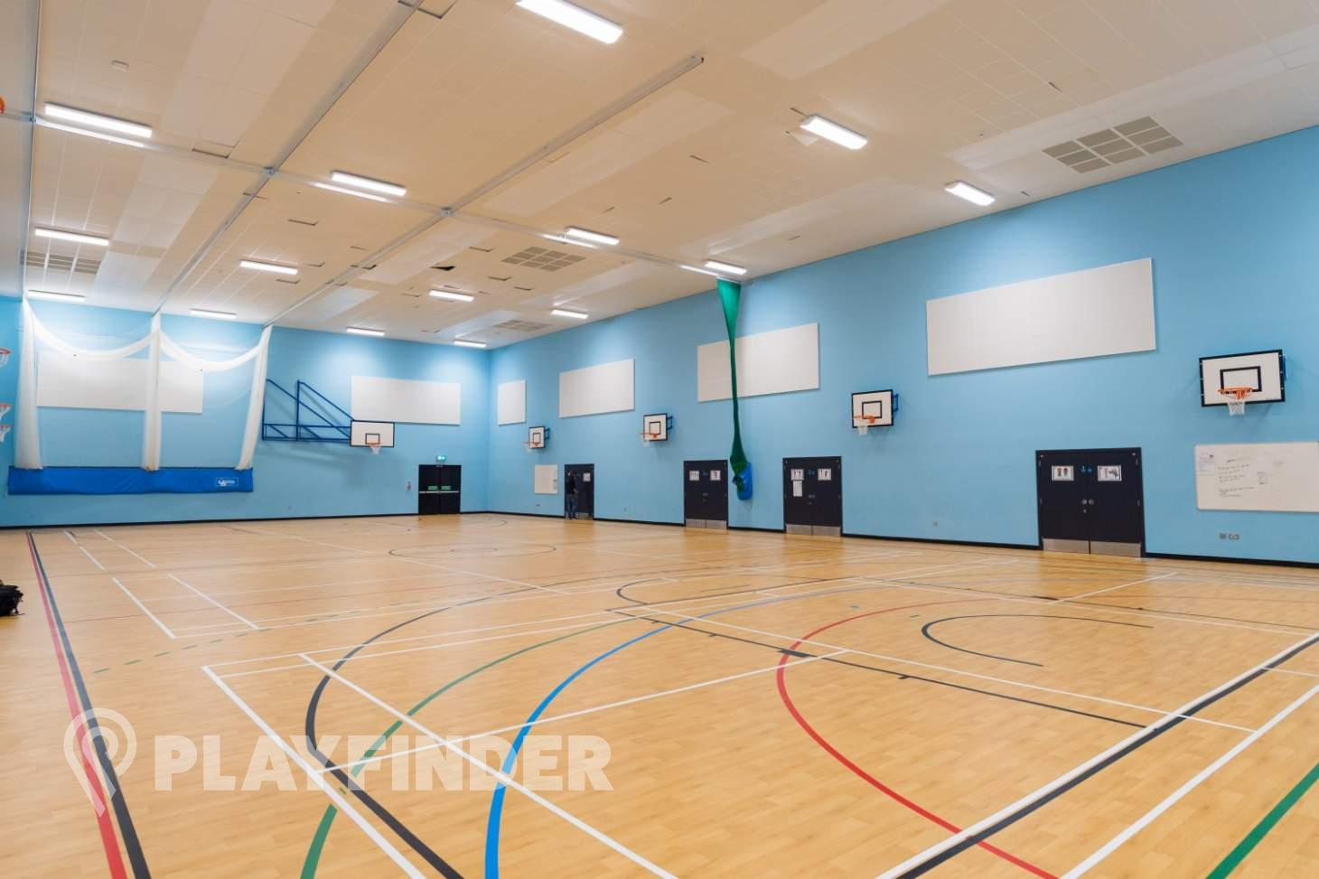 Manchester Enterprise Academy Central Court | Sports hall basketball court