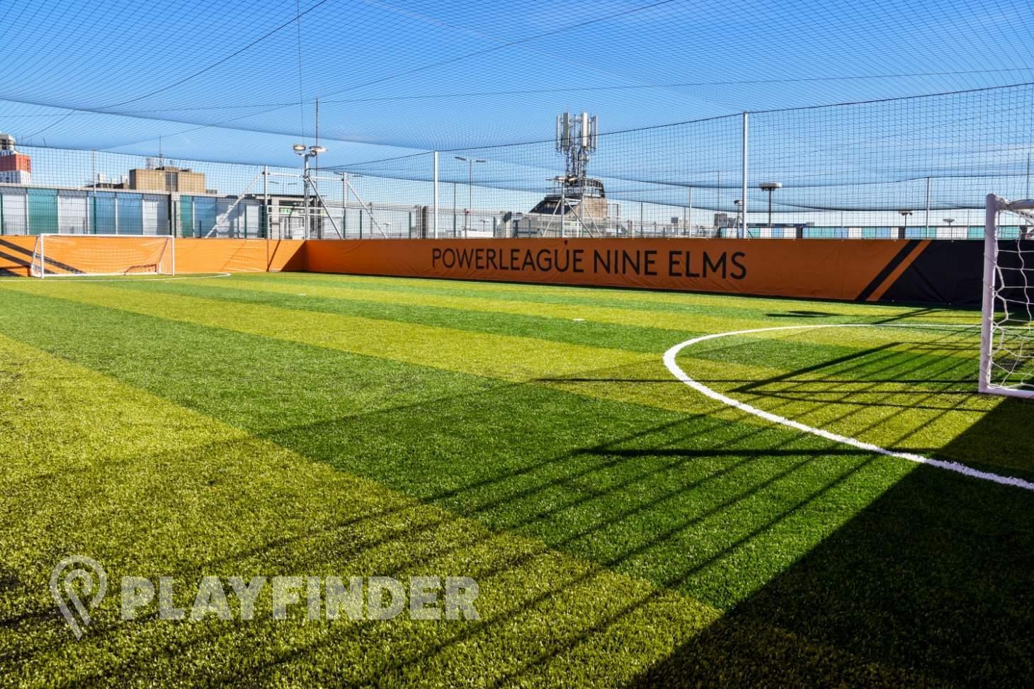 Powerleague Nine Elms 5 a side | 3G Astroturf football pitch