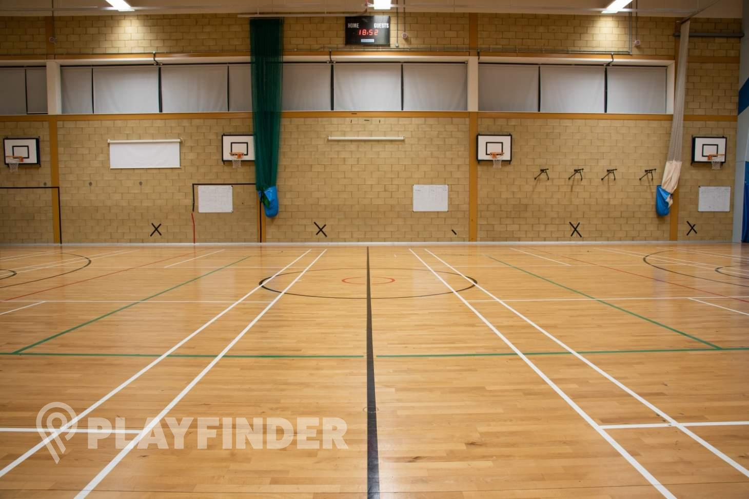 The Petchey Academy Sports Club Indoor netball court