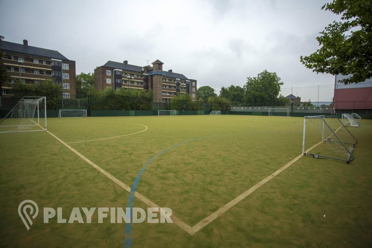 PlayFootball Holloway 5 a side | Astroturf football pitch