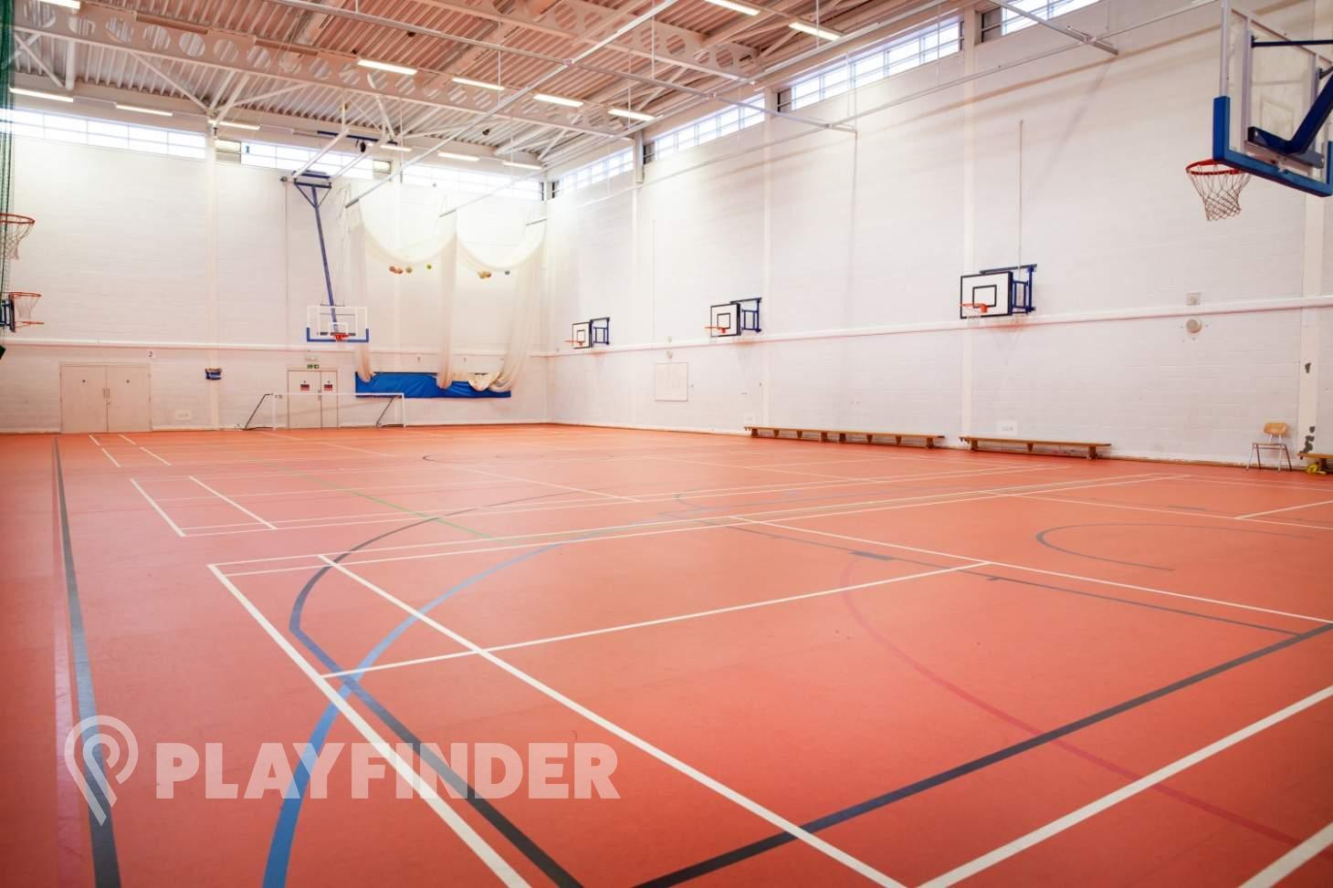 Park West Academy Indoor basketball court