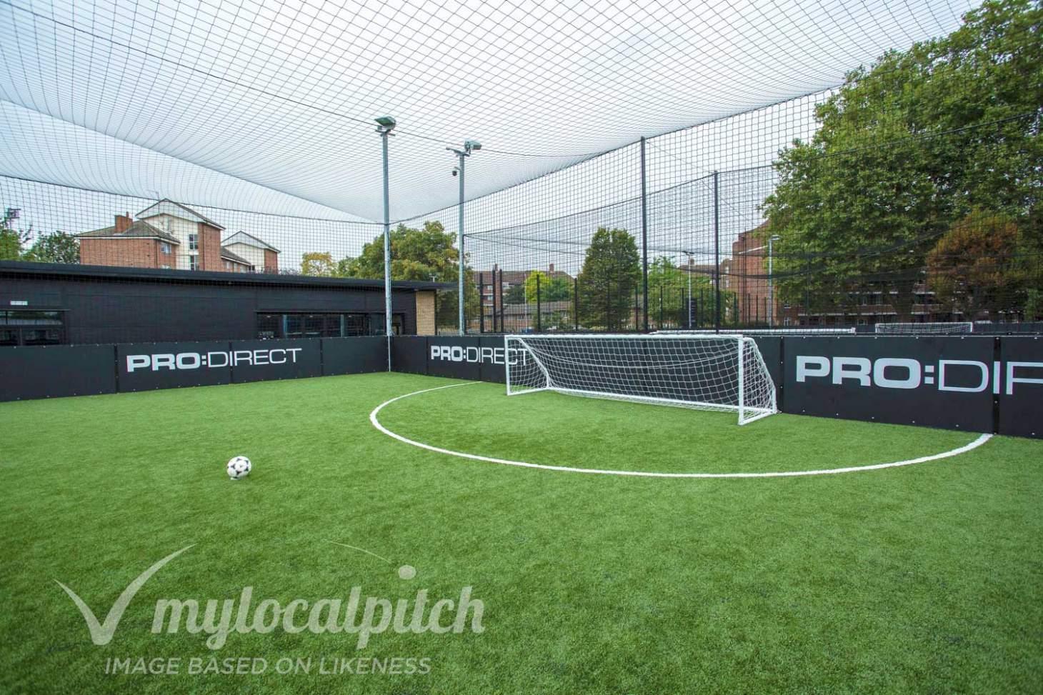 PlayFootball Preston 5 a side | 3G Astroturf football pitch