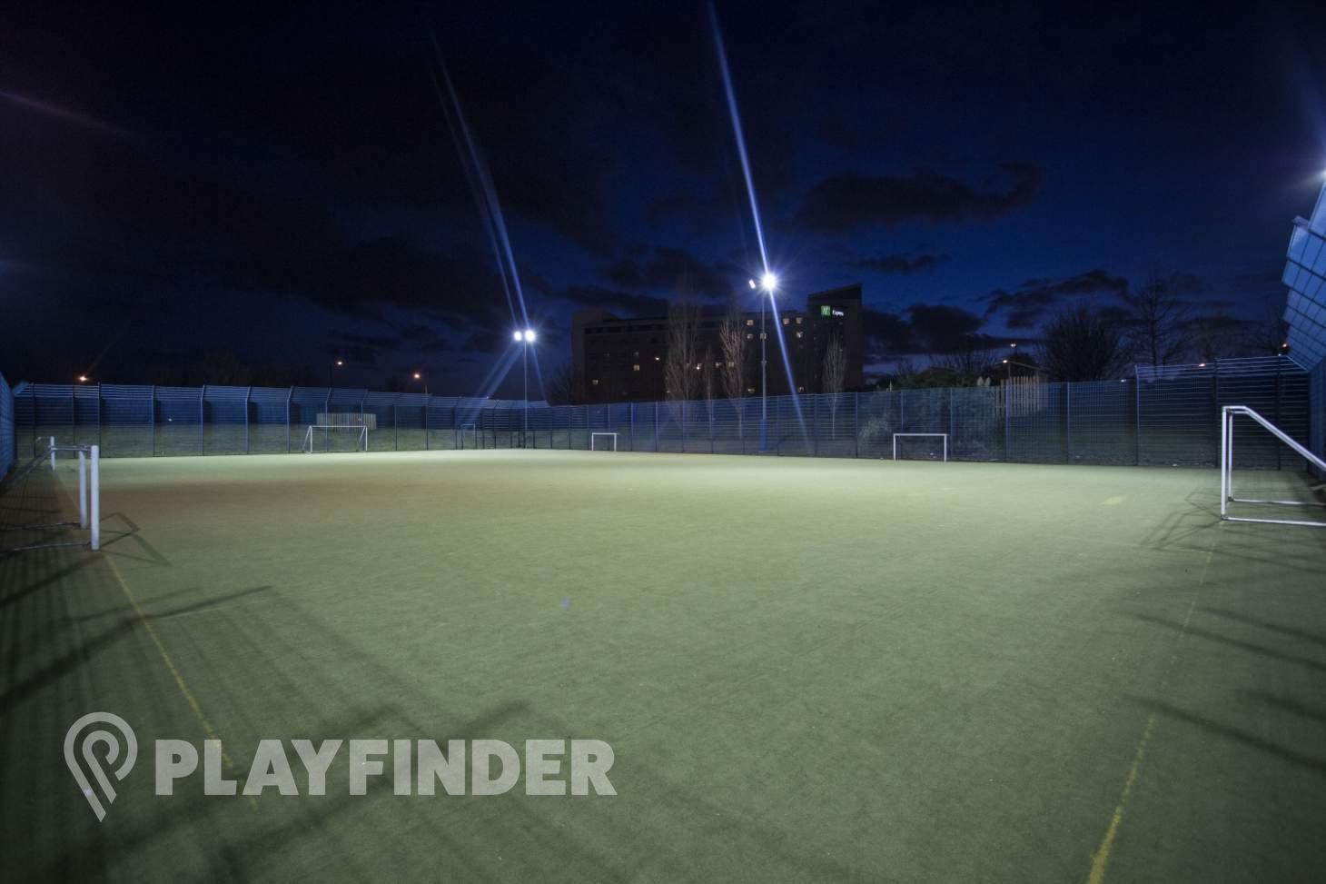 North Greenwich Astroturf 7 a side | Astroturf football pitch