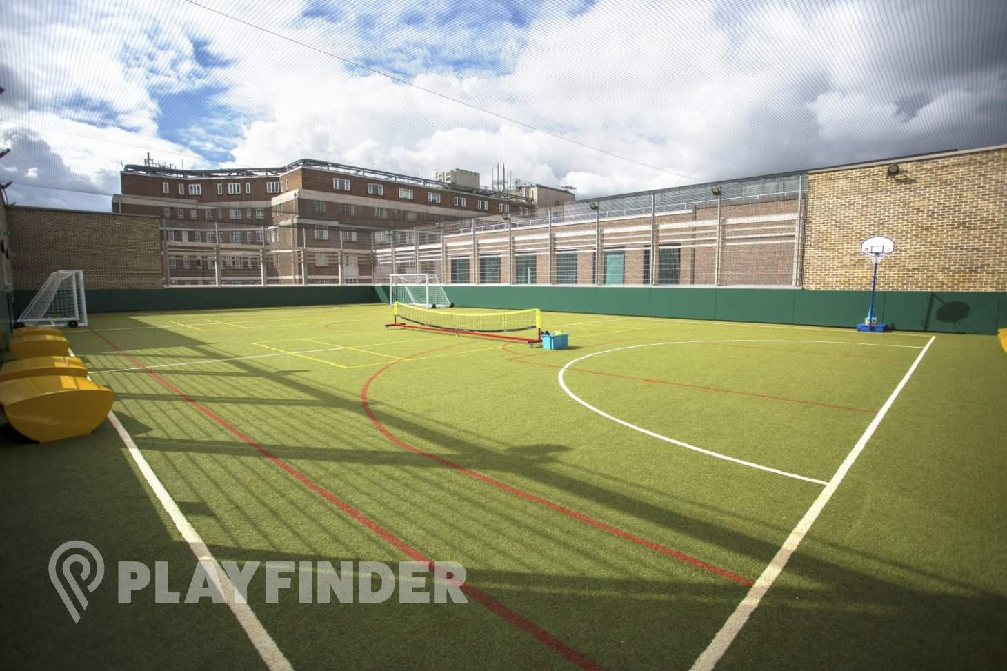 Sloane Square Sports Pitch, Marlborough 5 a side | Astroturf football pitch