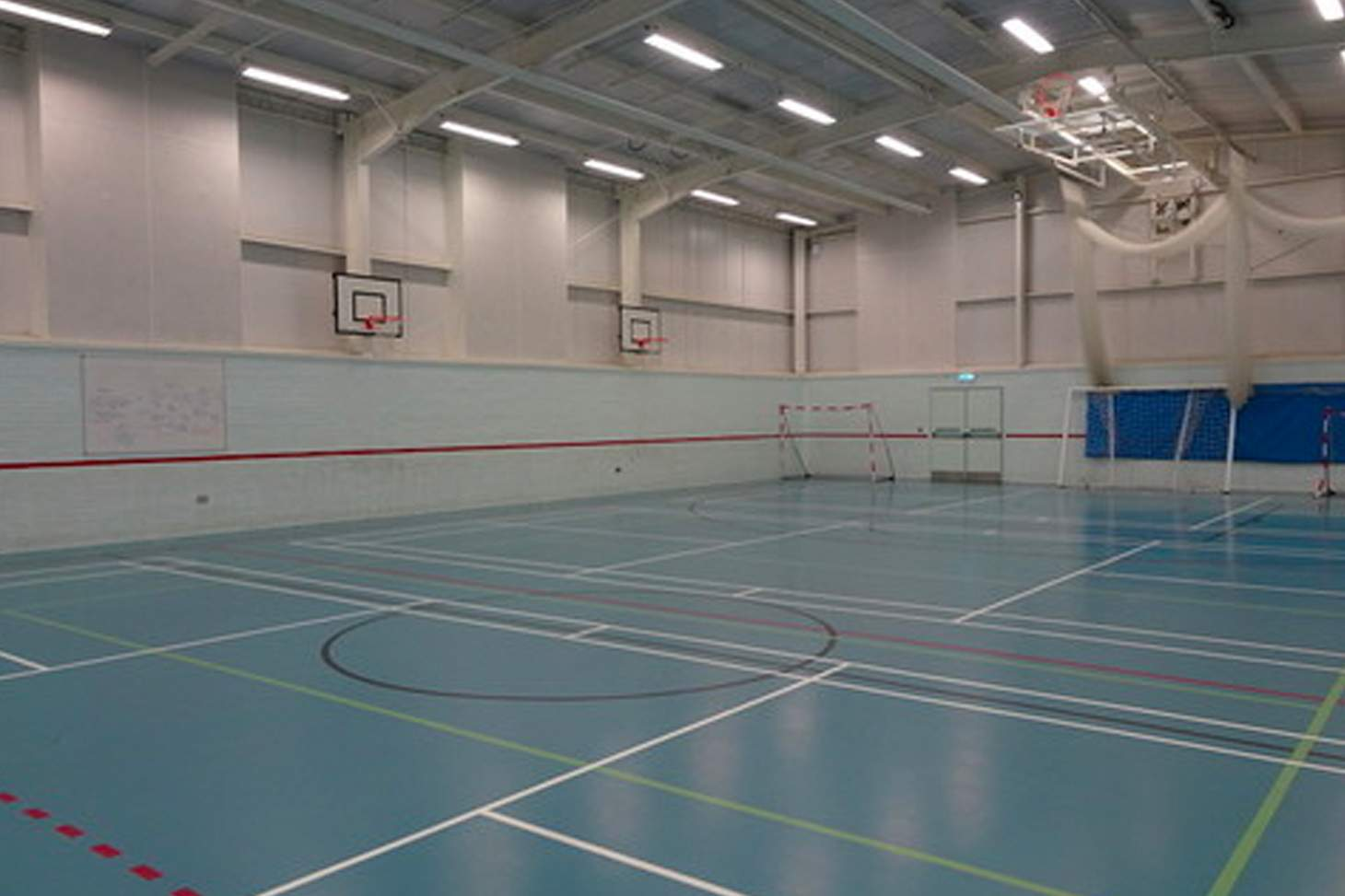 Wilmington Grammar School for Boys Nets | Sports hall cricket facilities