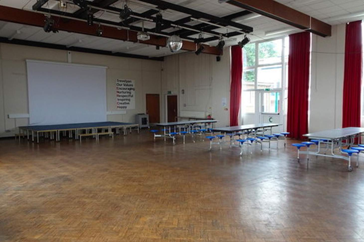 Trevelyan Middle School Main hall space hire