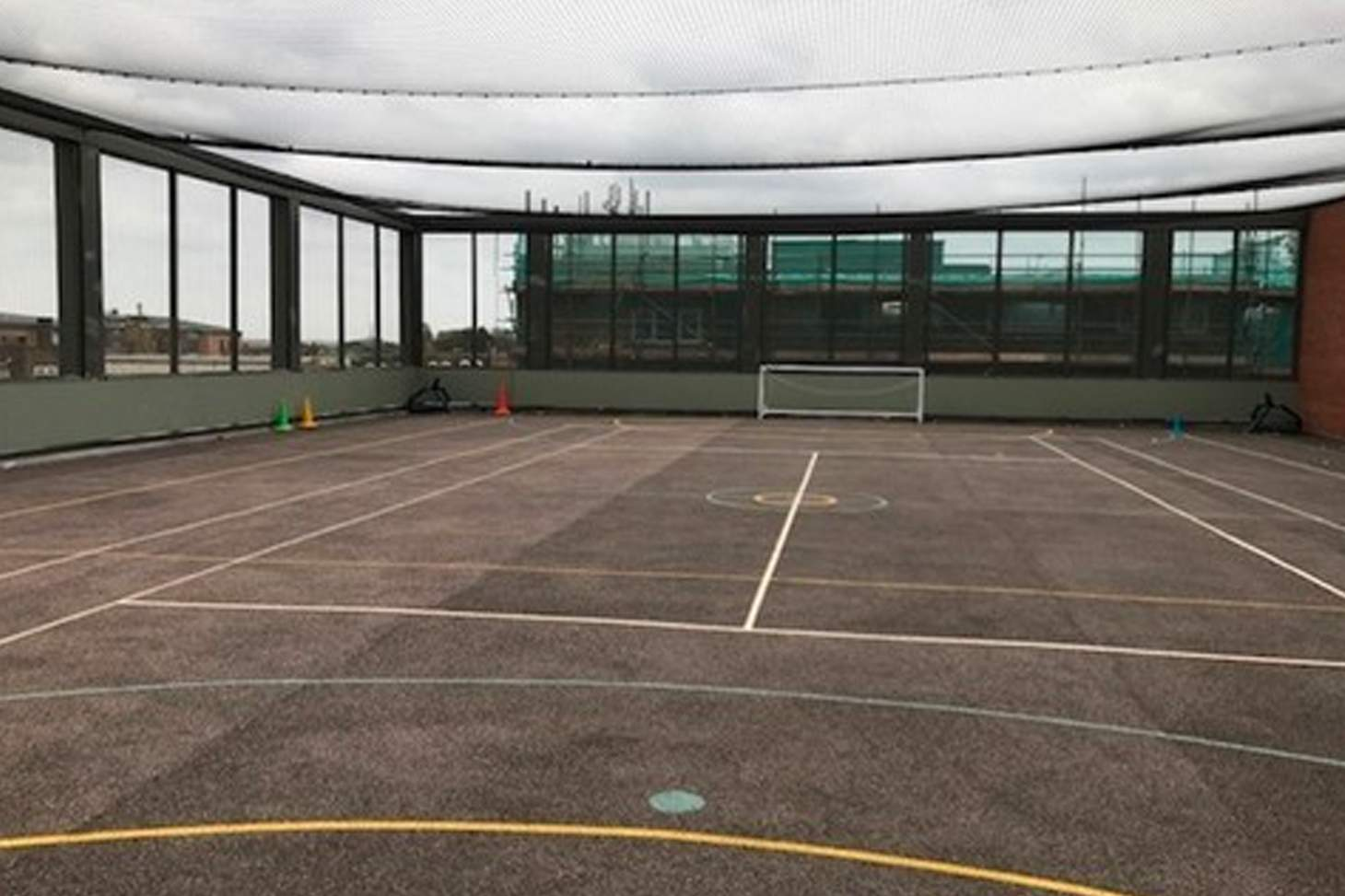 Our Lady's Convent High School Court   Hard (macadam) netball court