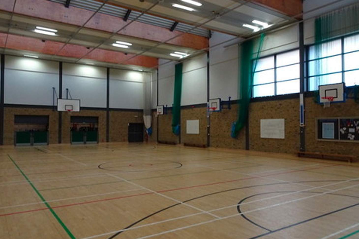 Bishop Challoner Catholic Federation of Schools Nets | Sports hall cricket facilities