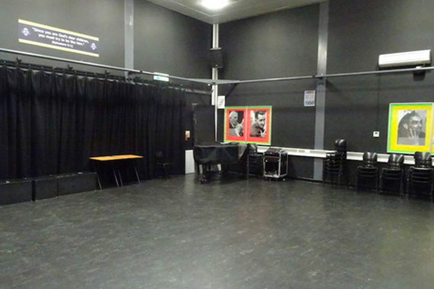 Bishop Challoner Catholic Federation of Schools Drama studio space hire
