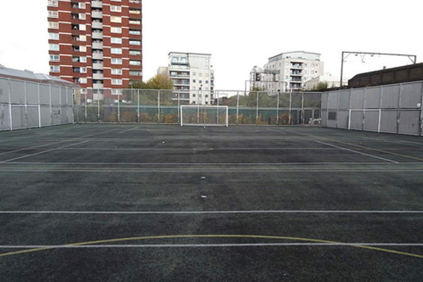 Bishop Challoner Catholic Federation of Schools 5 a side | Concrete football pitch