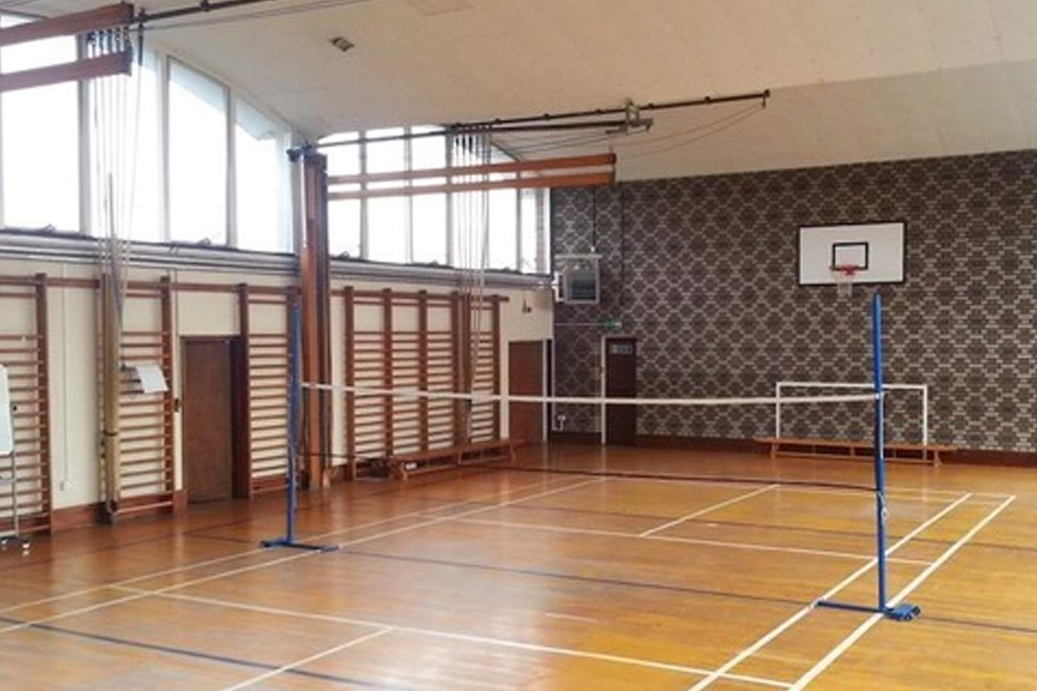 Ursuline Academy Ilford Court | Sports hall badminton court