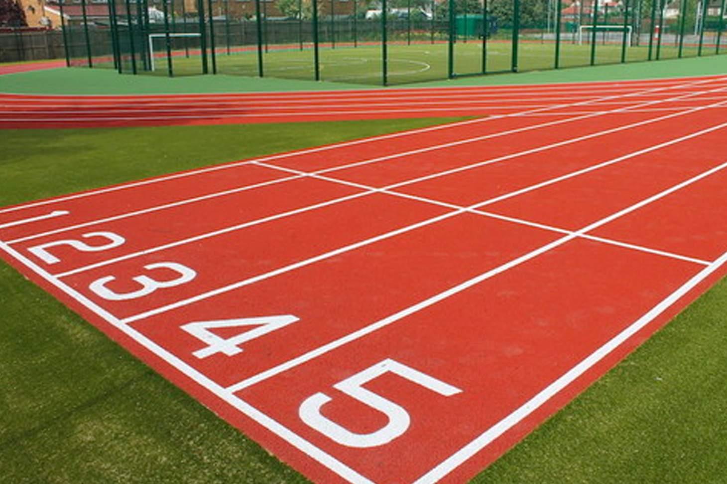 Oaklands School Running track   Hard (macadam) athletics track