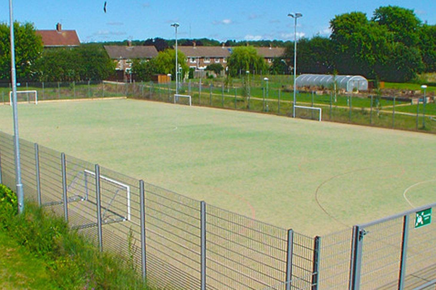 The Academy of St Nicholas 9 a side | Astroturf football pitch
