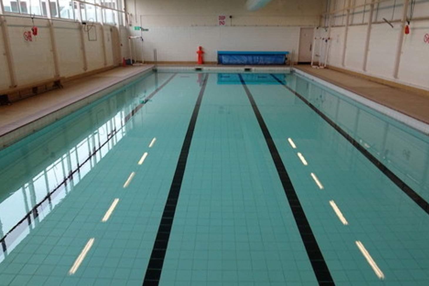 De La Salle Academy Indoor swimming pool
