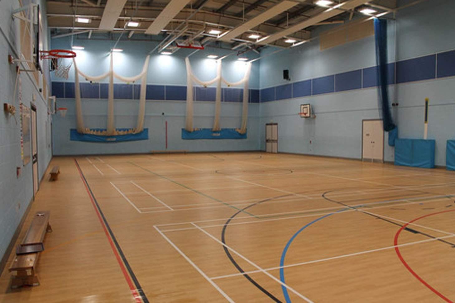 Kingsmeadow Community School 5 a side   Indoor football pitch