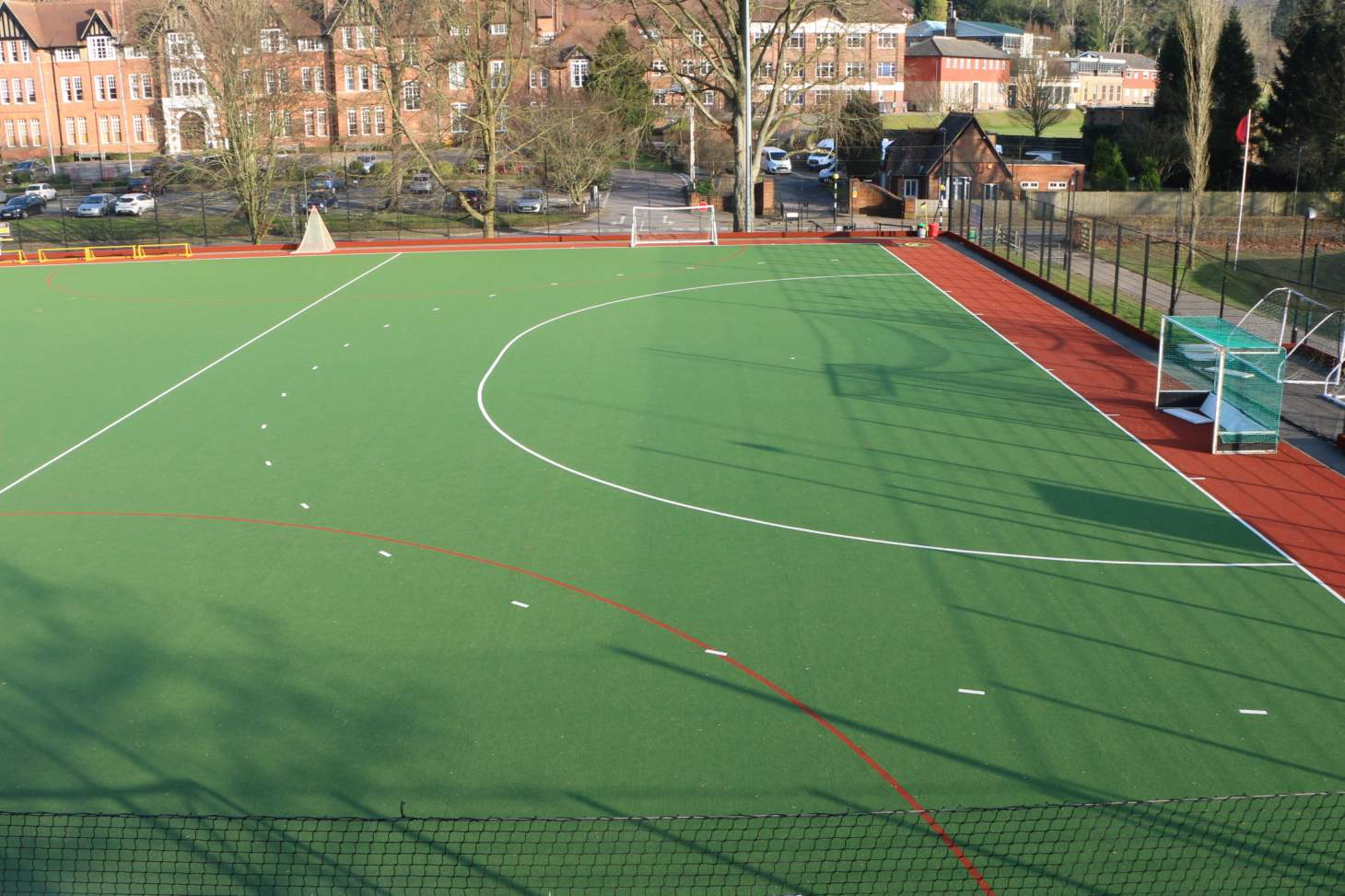 Caterham School Sports Centre Outdoor | Astroturf hockey pitch