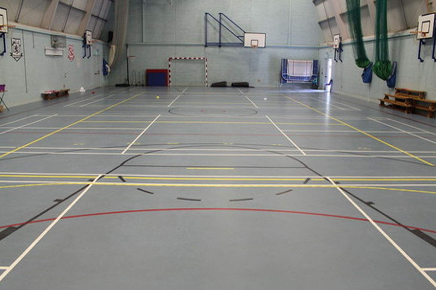 St Edmund Campion Catholic School & Sixth Form Centre Indoor basketball court