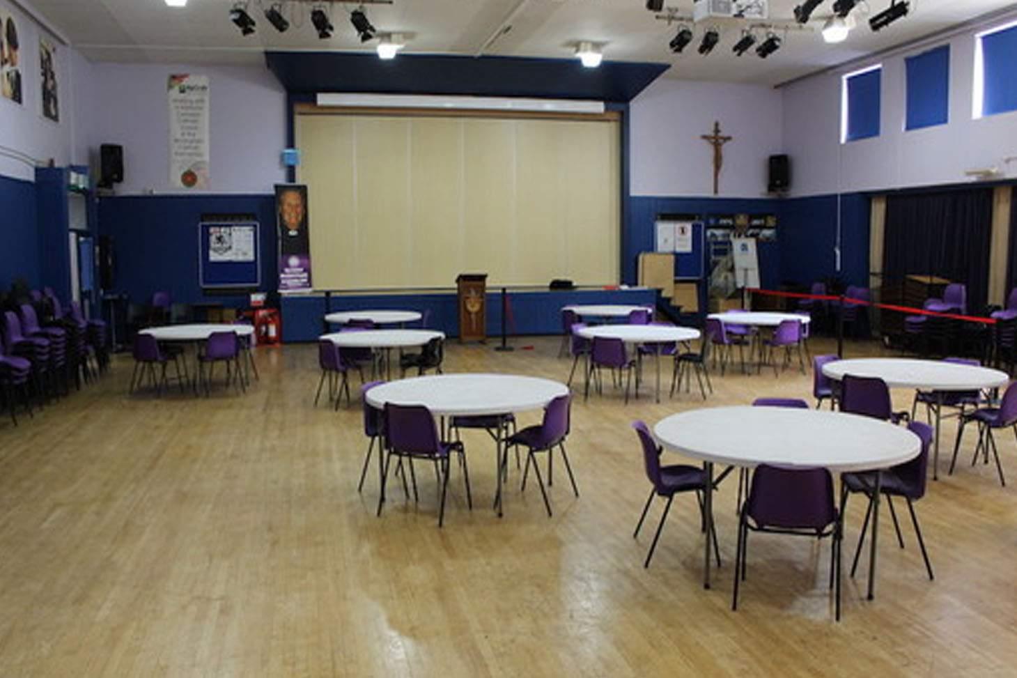 St Edmund Campion Catholic School & Sixth Form Centre Main hall space hire