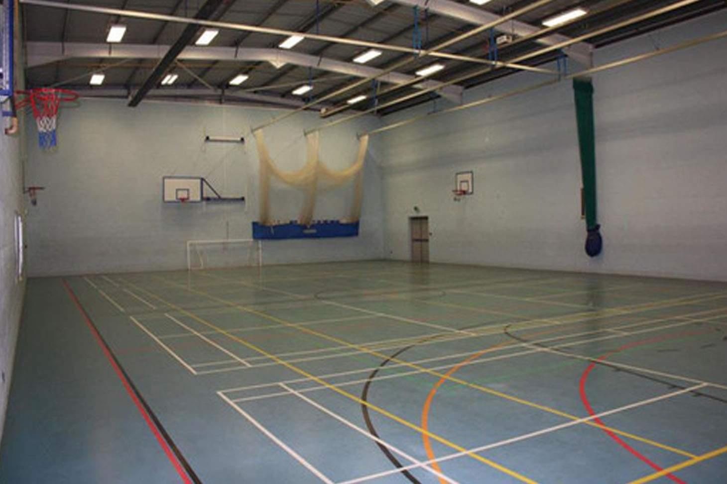 Bishop Rawstorne CE Academy Indoor badminton court