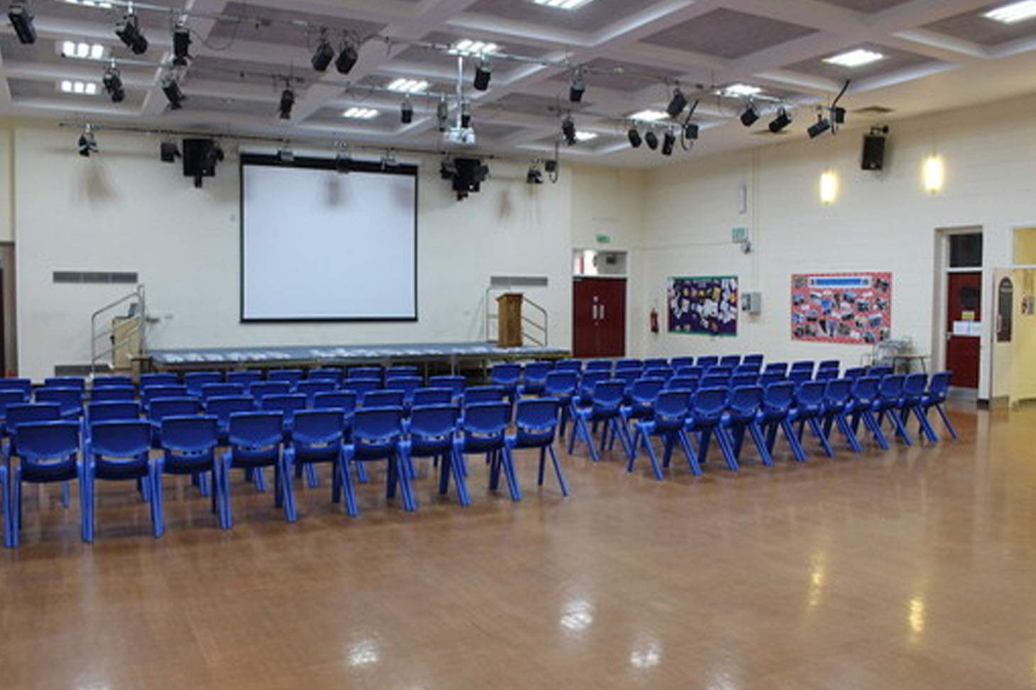 Ashton Community Science College Main hall space hire