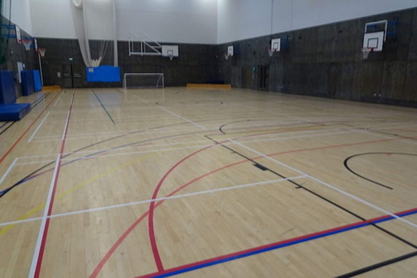 Highfield Leadership Academy Indoor | Hard badminton court