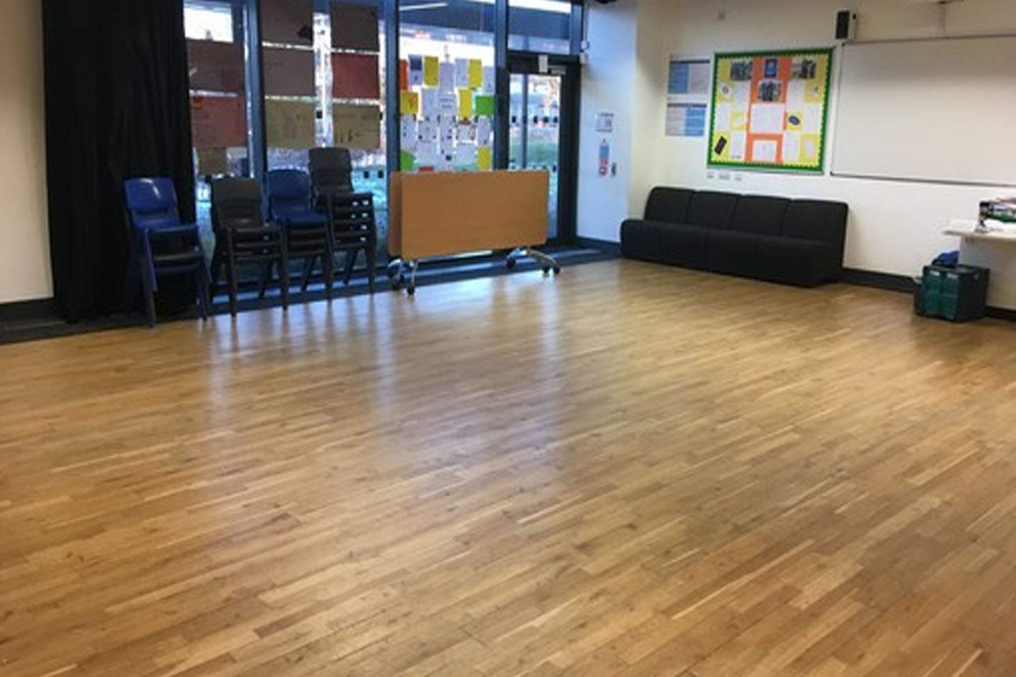 Highfield Leadership Academy Drama studio space hire