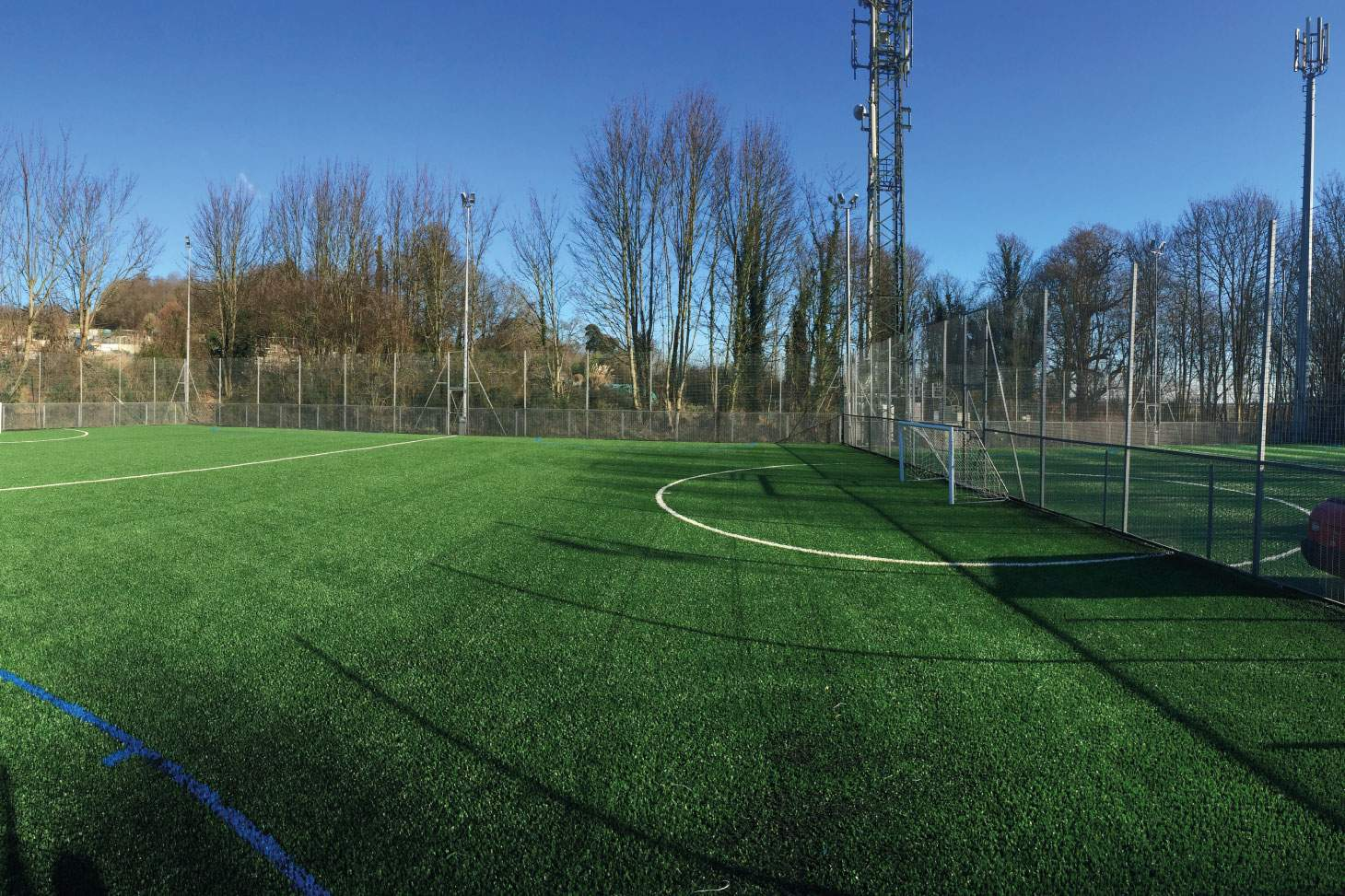 Impulse Leisure Lancing Manor 5 a side | 3G Astroturf football pitch