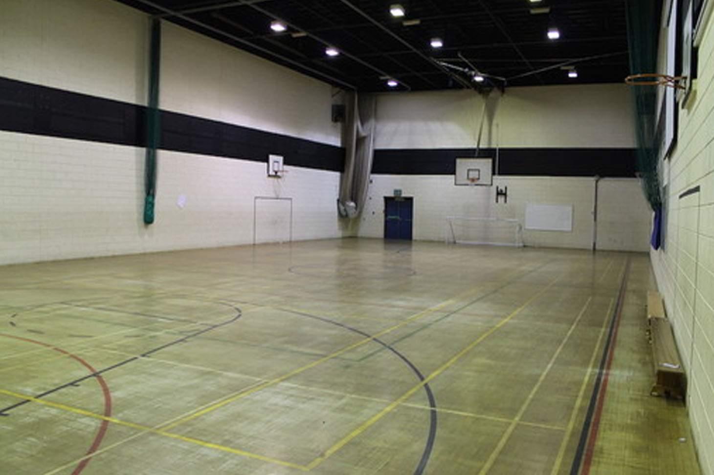 Thornleigh Salesian College Indoor badminton court