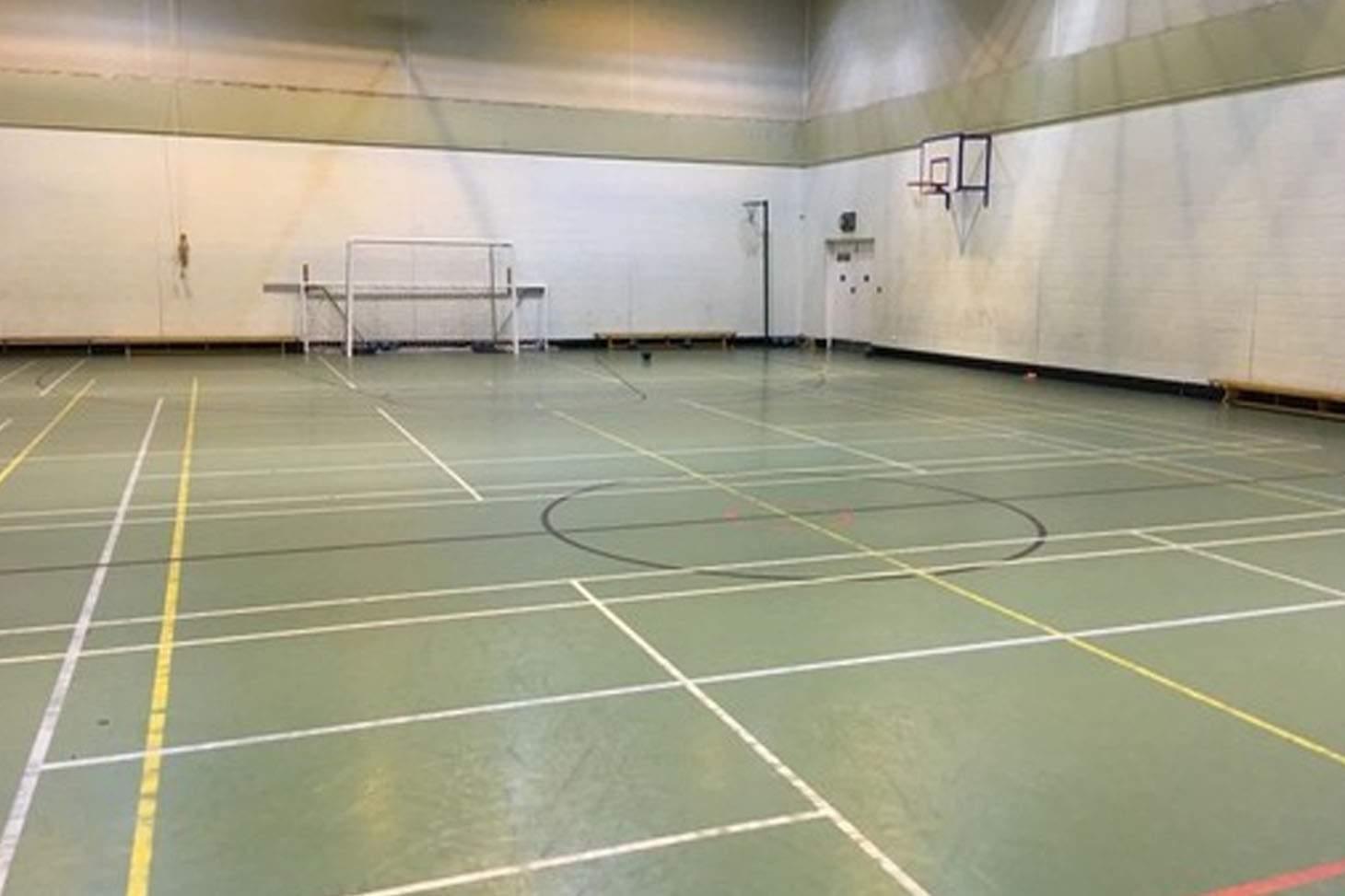 Bury C of E High School Indoor cricket facilities