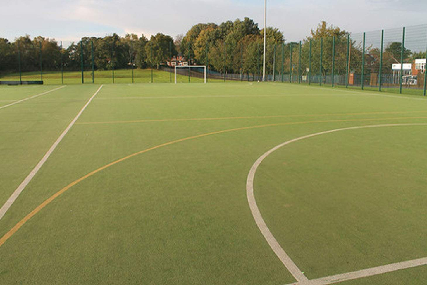 St. James's C of E High School 7 a side | Astroturf football pitch