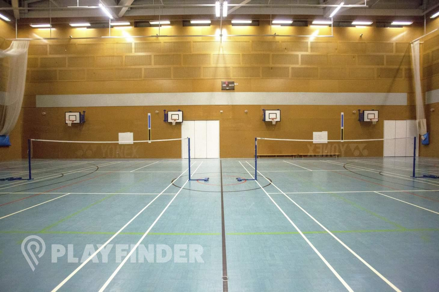 Globe Academy Indoor basketball court
