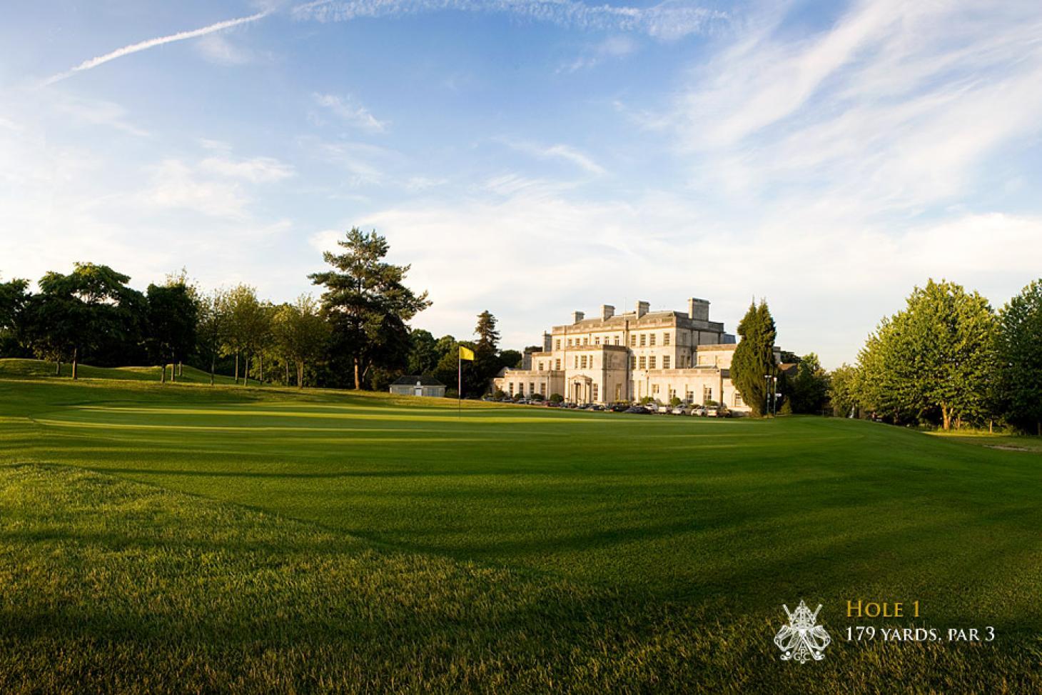 Addington Palace 18 hole golf course
