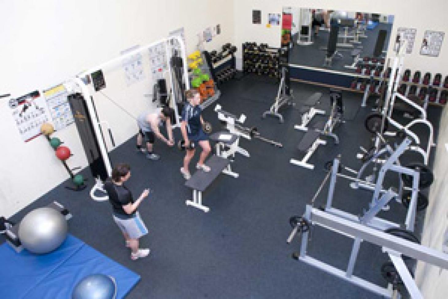 Robert Lowe Sports Centre Gym gym