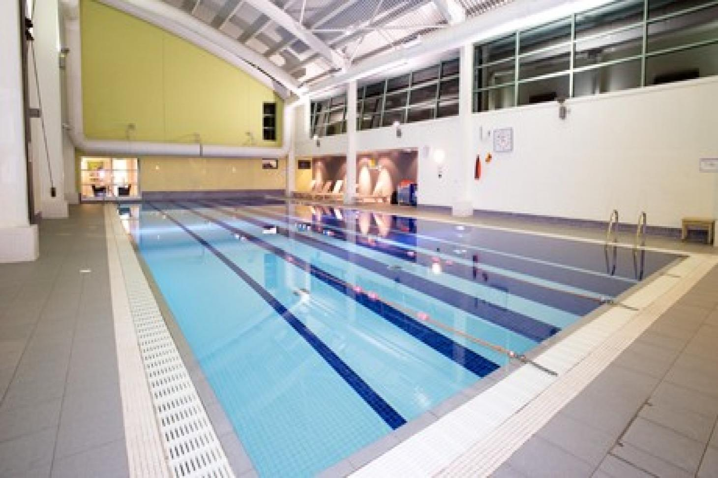 Nuffield Health Covent Garden Indoor swimming pool