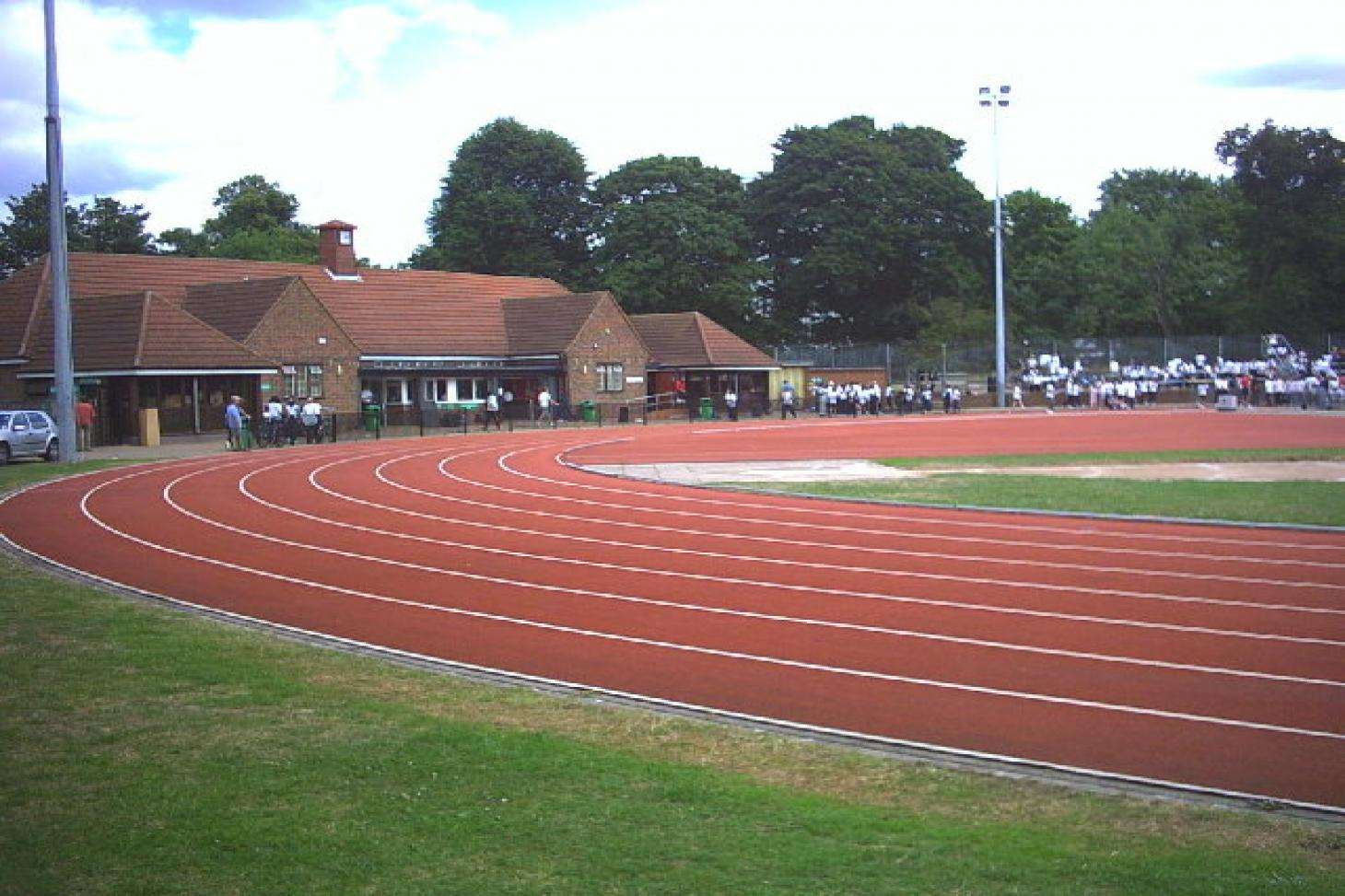 Tooting Bec Athletics Track Gym gym