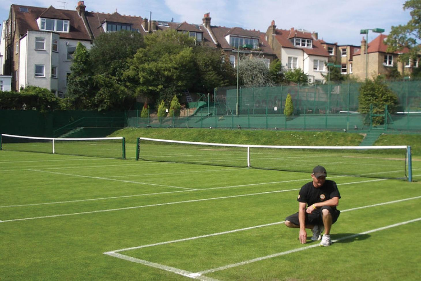 Southfields Lawn Tennis Club Outdoor | Grass tennis court