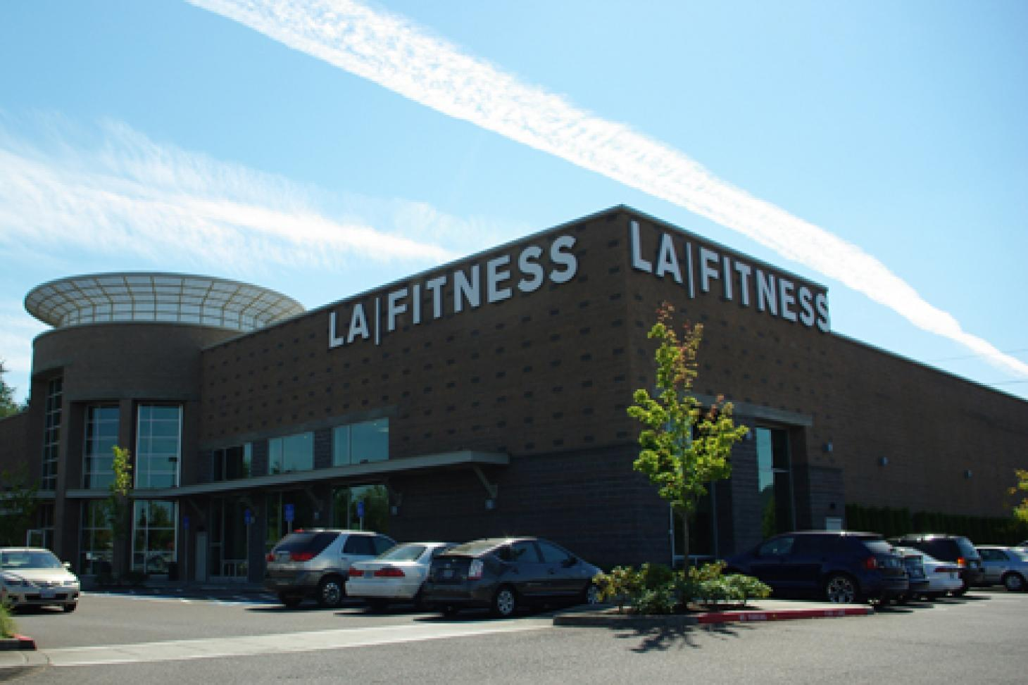 LA Fitness St Pauls Indoor swimming pool
