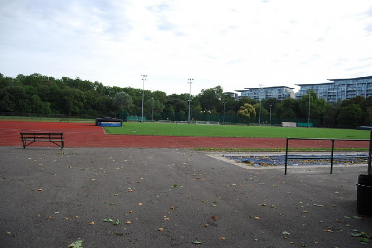 Battersea Park Millennium Arena Outdoor | Concrete netball court