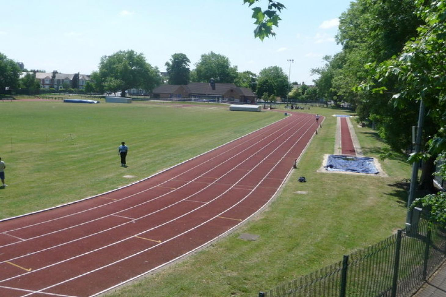 Ladywell Arena Outdoor | Synthetic rubber athletics track