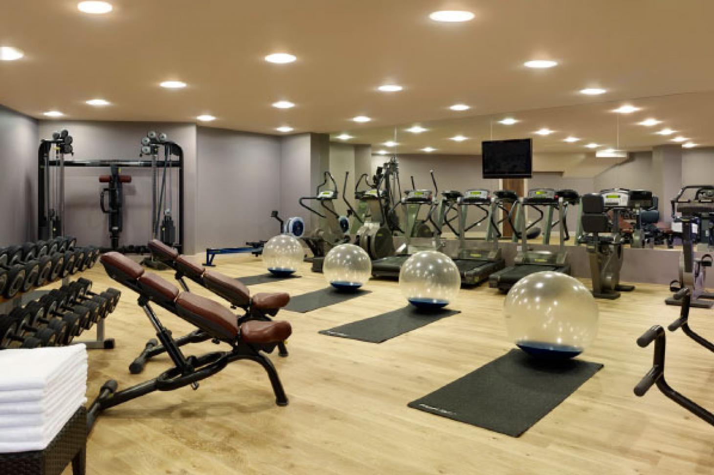 Blue Harbour Spa Gym gym