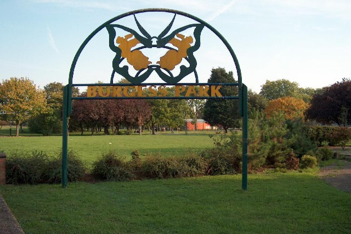 Burgess Park Full size   Grass cricket facilities