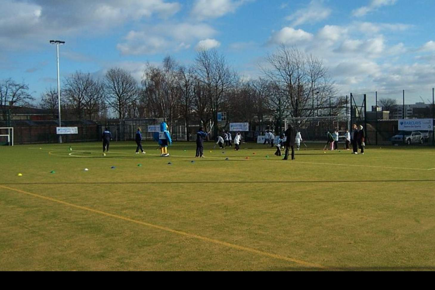 Linford Christie Athletics Track 11 a side | Astroturf football pitch