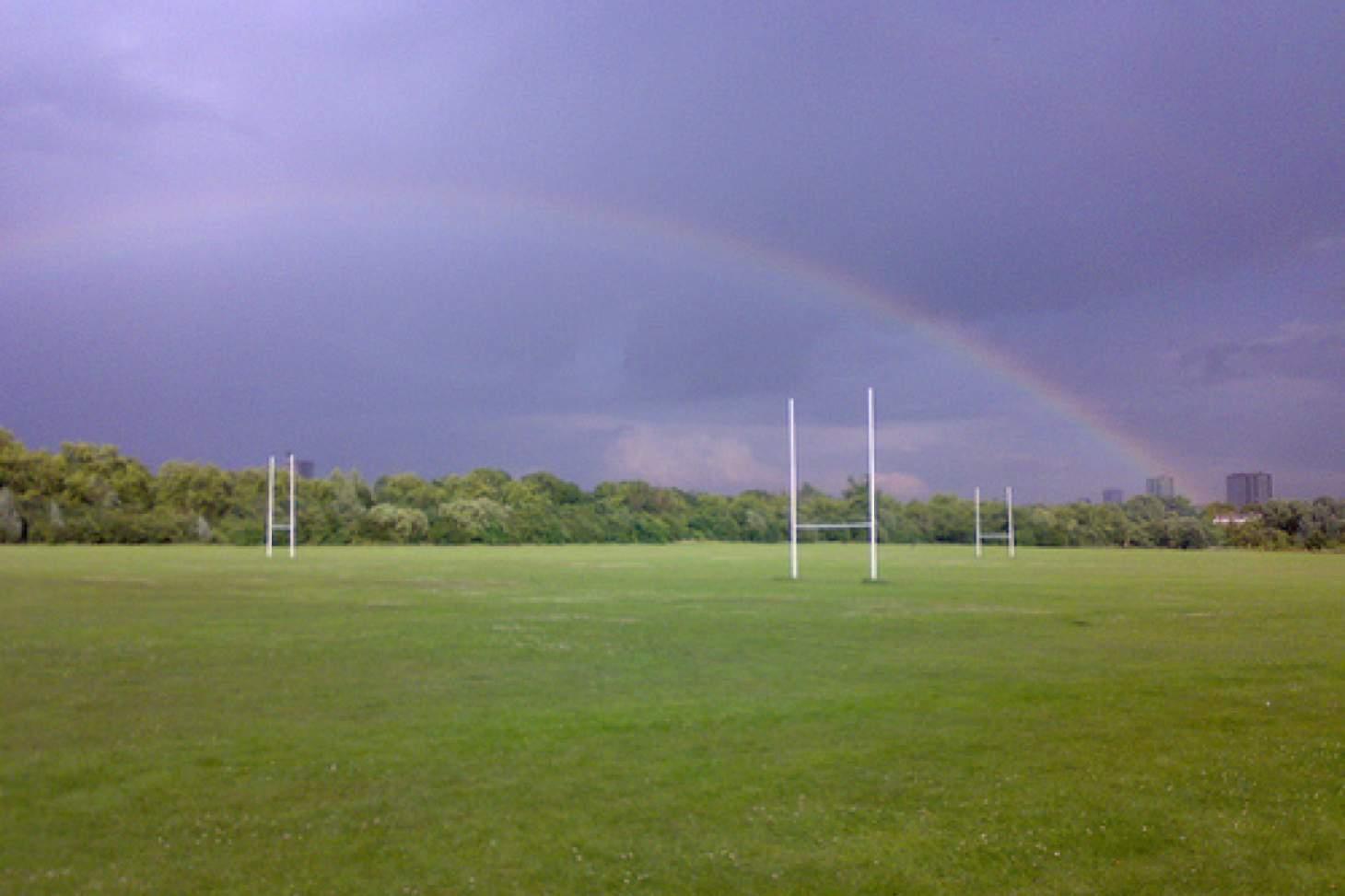 Wormwood Scrubs Union | Grass rugby pitch