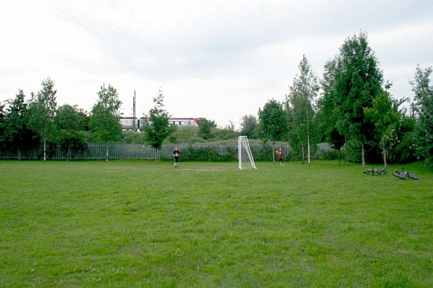 Higher Drive Recreation Groud 5 a side | Concrete football pitch
