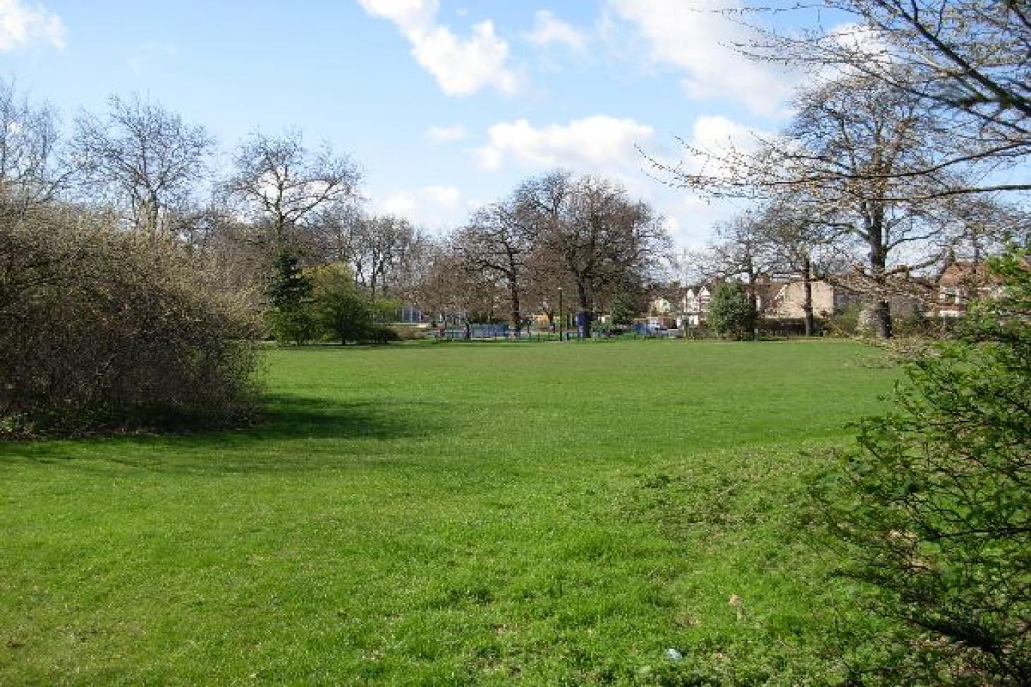 Pymmes Park 5 a side   Concrete football pitch