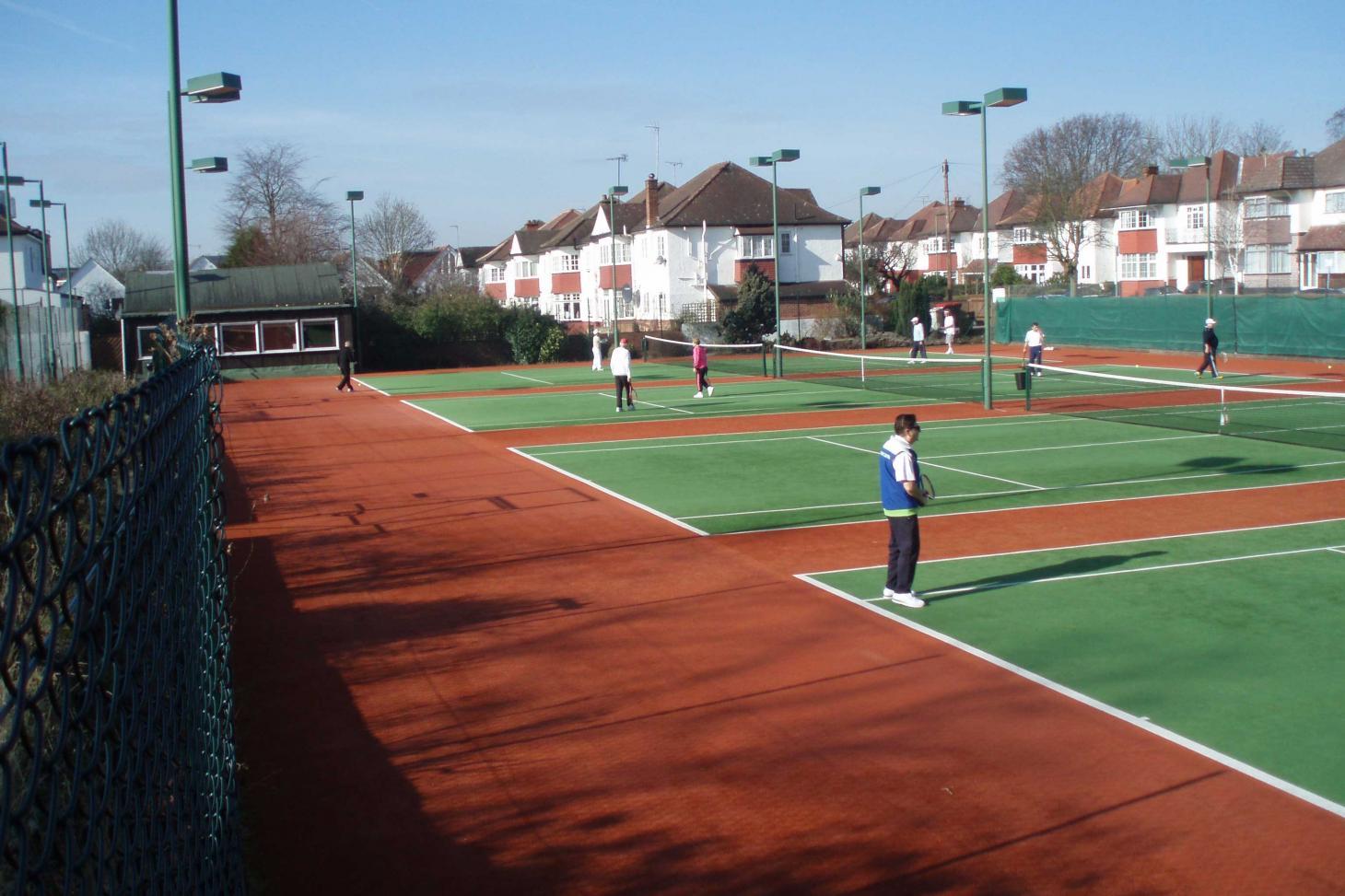 Templars Tennis Club Outdoor | Astroturf tennis court