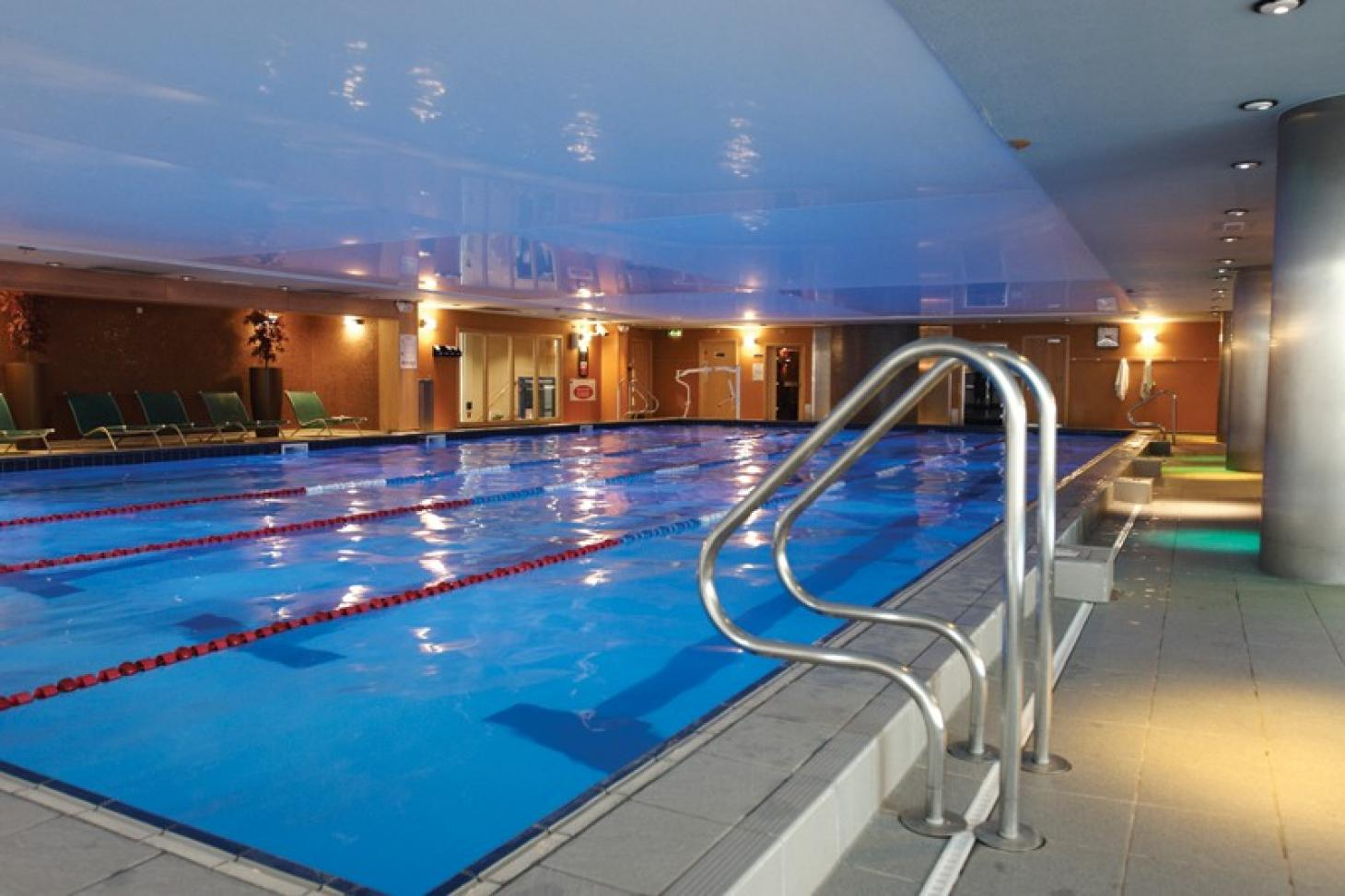 David Lloyd Fulham Indoor swimming pool