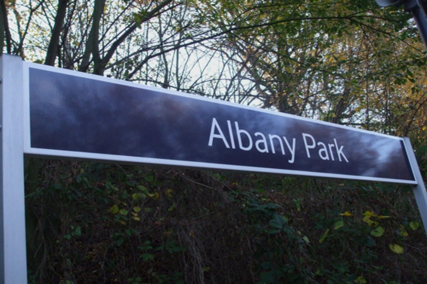 Albany Park 11 a side | Grass football pitch