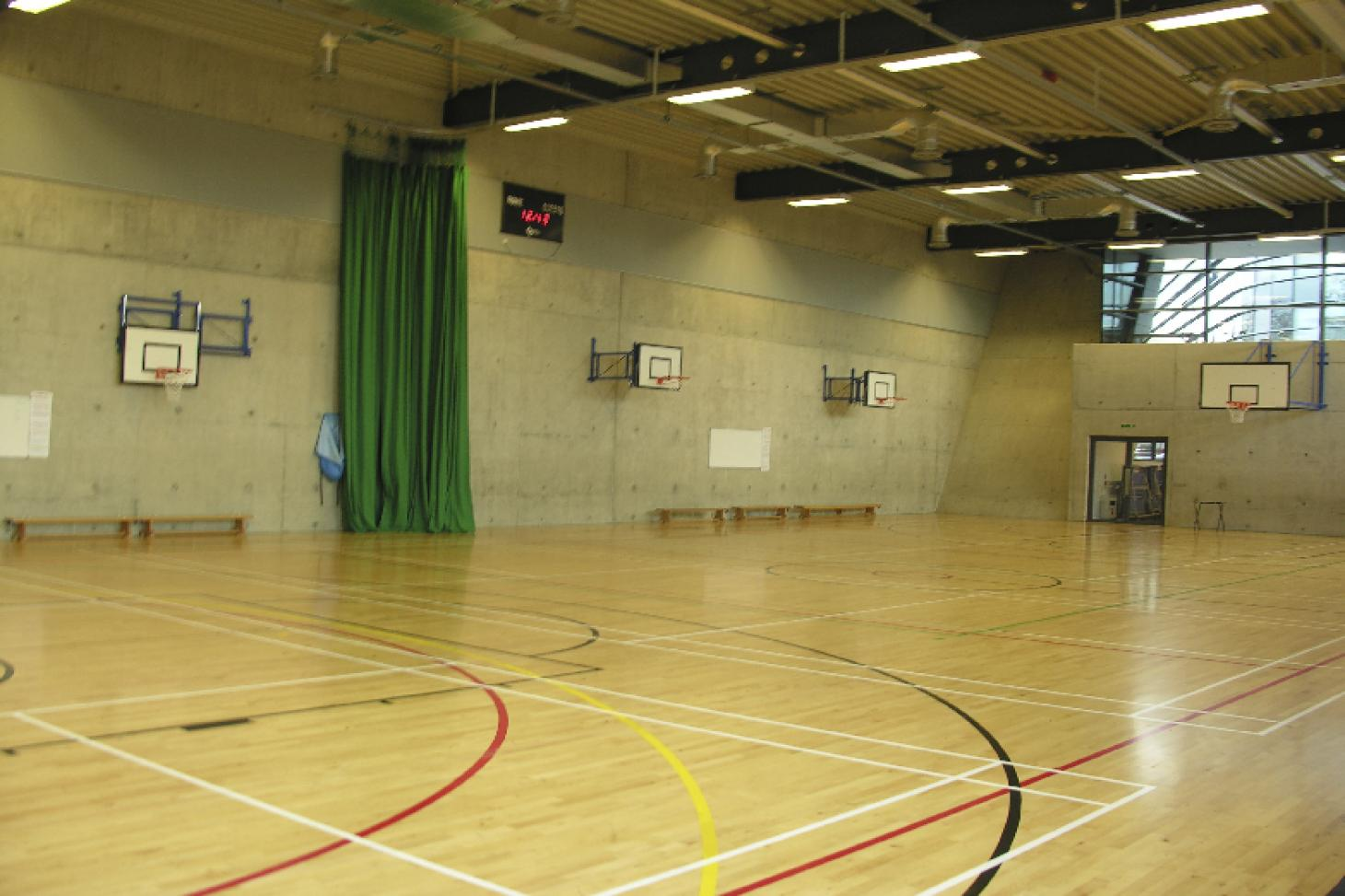 Evelyn Grace Academy Indoor netball court